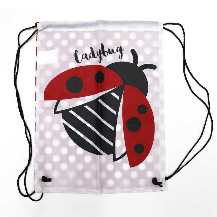 WAM Lady Bug Printed Swim Bag