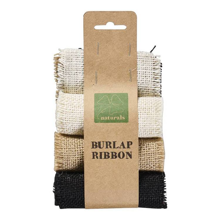 Shamrock Naturals Burlap Ribbon