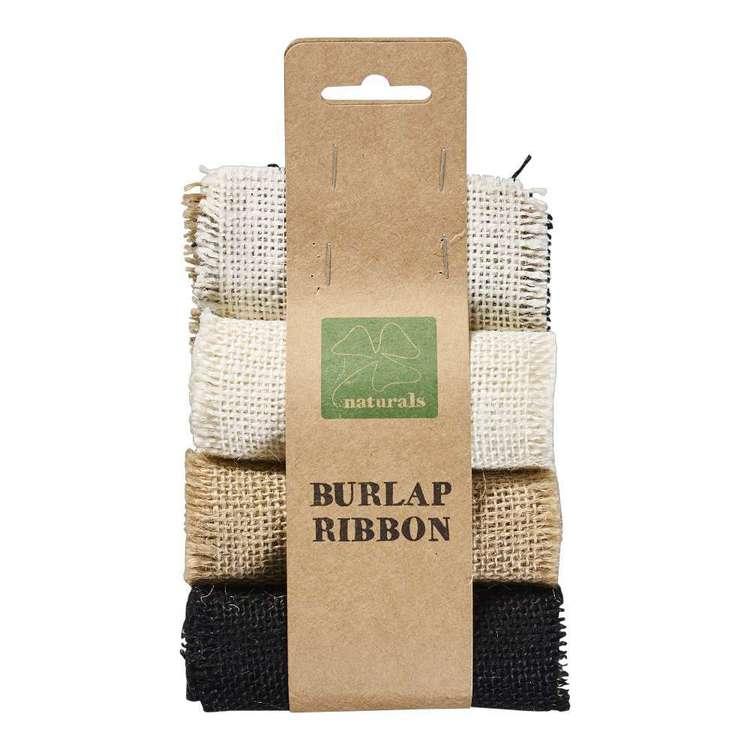 Shamrock Burlap Ribbon 3 Pack
