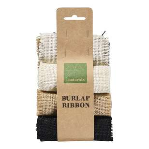 Shamrock Burlap Ribbon 3 Pack