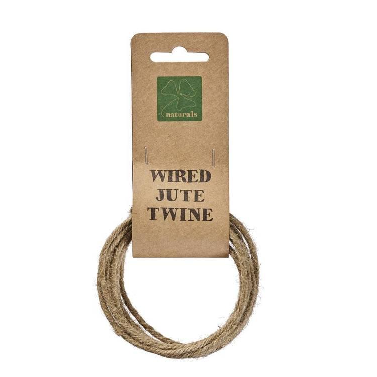 Shamrock Naturals Wire Jute Twine