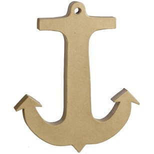 Shamrock Craft Anchor Paper Mache