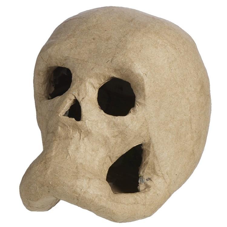 Shamrock Craft Skull Paper Mache