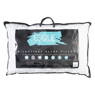 Logan & Mason Esque Microfibre Pillow