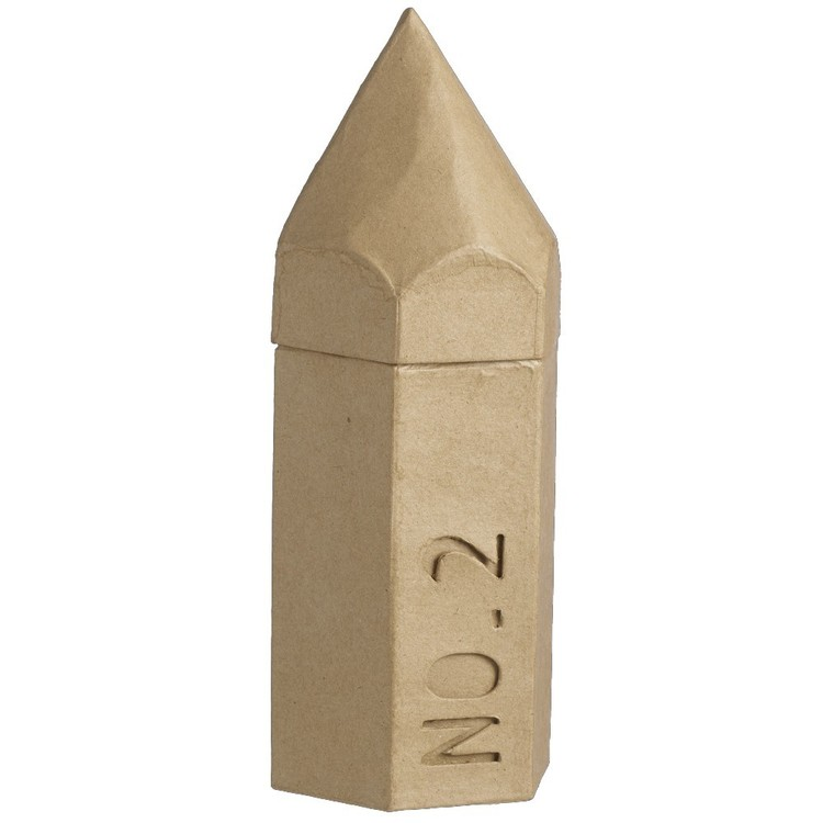 Shamrock Craft Pencil Case Paper Mache
