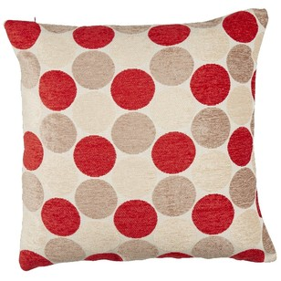 Living Space Addison Dot Jacquard Cushion Cover