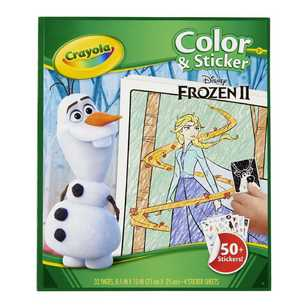 Crayola Disney Frozen Colour & Sticker Book