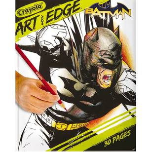 Crayola Art With Edge Book Batman Collection