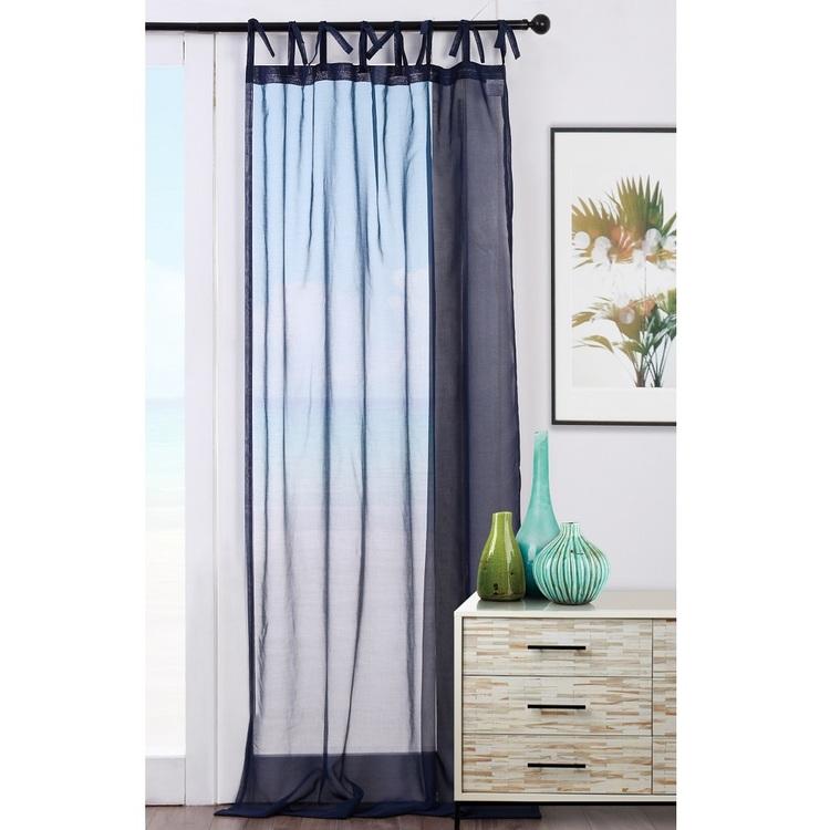 Koo Hampton Tie Tab Top Curtain Spotlight Australia