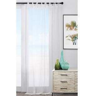 KOO Hampton Tie Tab Top Curtain