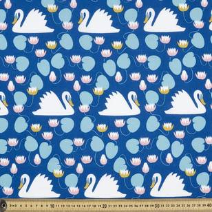 Trosko Swan Cotton Fabric