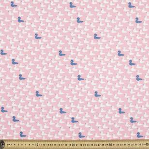 Trosko Swan Cygnets Cotton Fabric