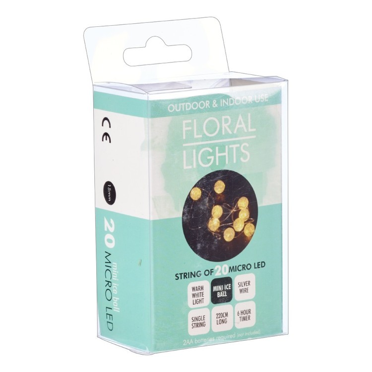 Floral Lighting Ball 20 Led