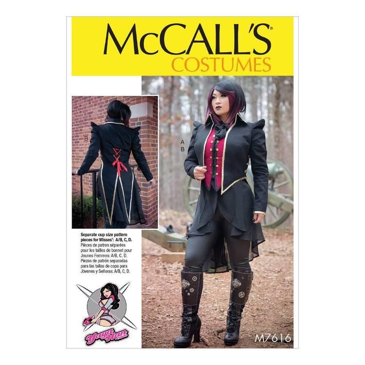 McCall's Pattern M7616 Vest & Jacket Costume