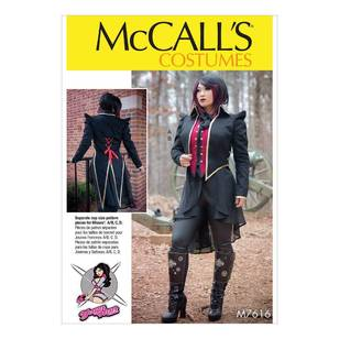 McCall's Pattern M7616 Vest & Jacket Costume