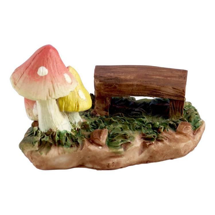 Fairy Garden Picnic Bench Figurine