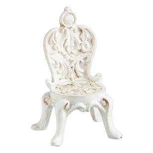 Fairy Garden Iron Look Garden Chair Figurine