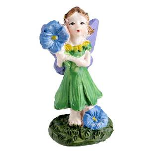 Fairy Garden Fairy With Flower Figurine