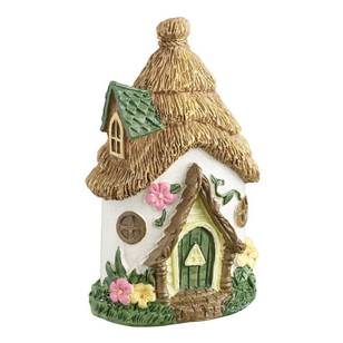 Fairy Garden Fairy Straw House Figurine