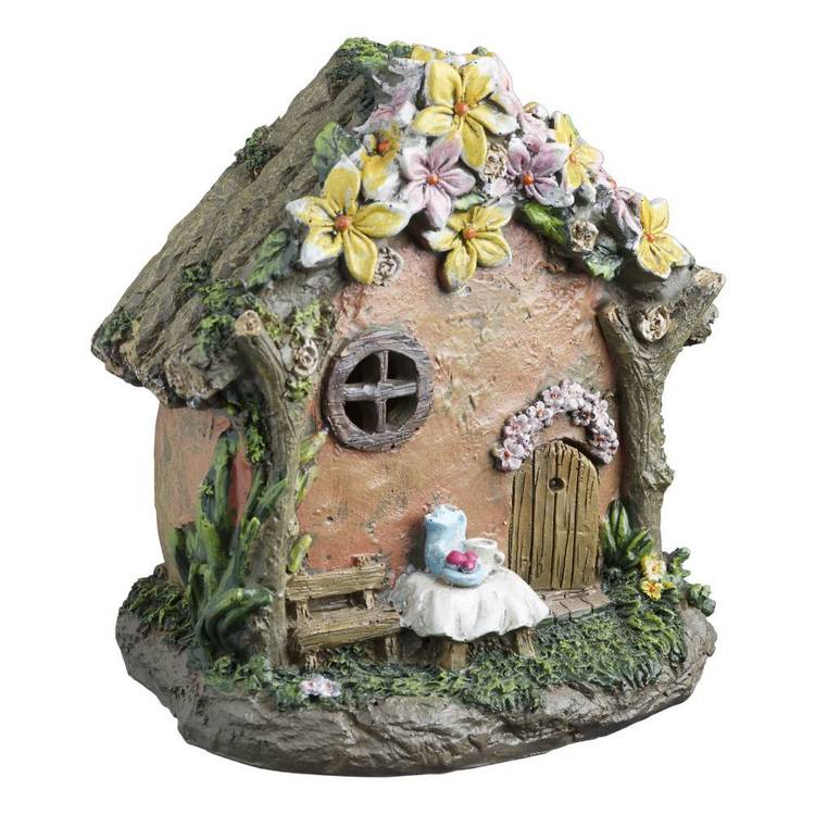 Fairy Garden Cafe House Figurine
