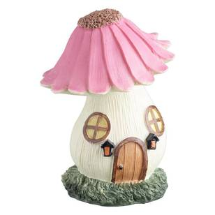 Fairy Garden Fairy Flower House Figurine