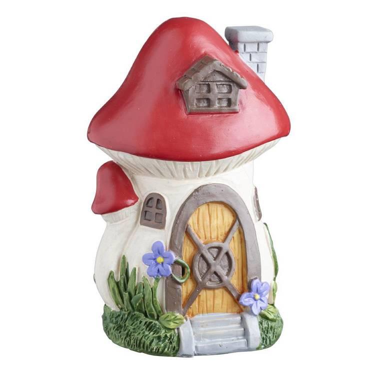 Fairy Garden Fairy Mushroom House  Figurine
