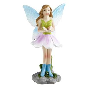 Fairy Garden Fairy With Butterfly Figurine