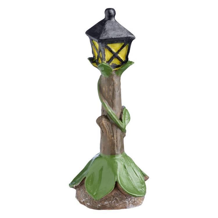 Fairy Garden Street lamp Figurine