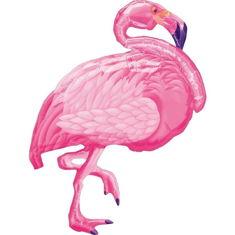 Anagram Flamingo Foil Balloon