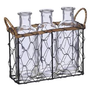 Francheville Glass Bottle Wire Tray