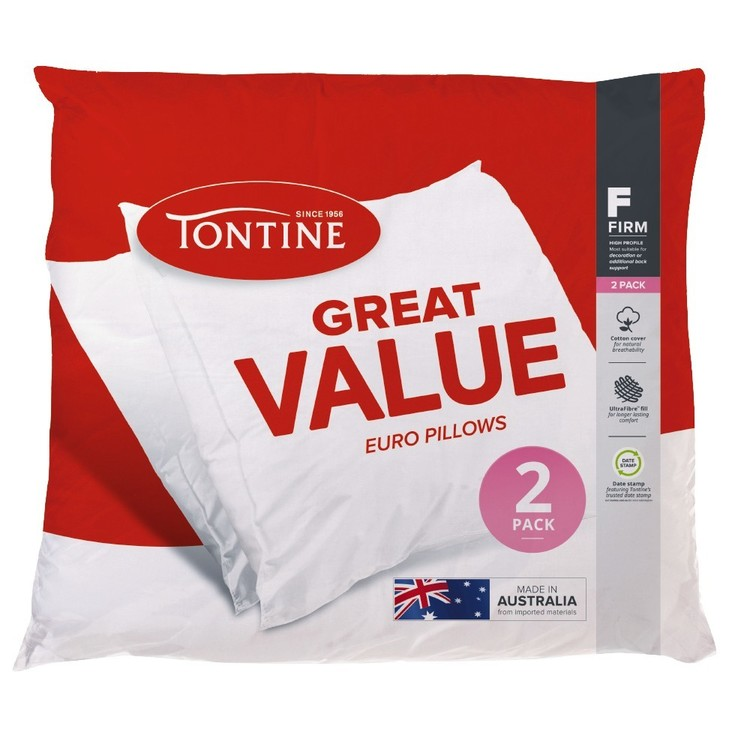 Tontine Great Value European Pillows