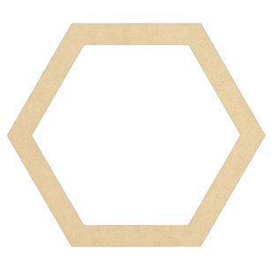 Kaisercraft Kaiserdecor Hexagon Frame