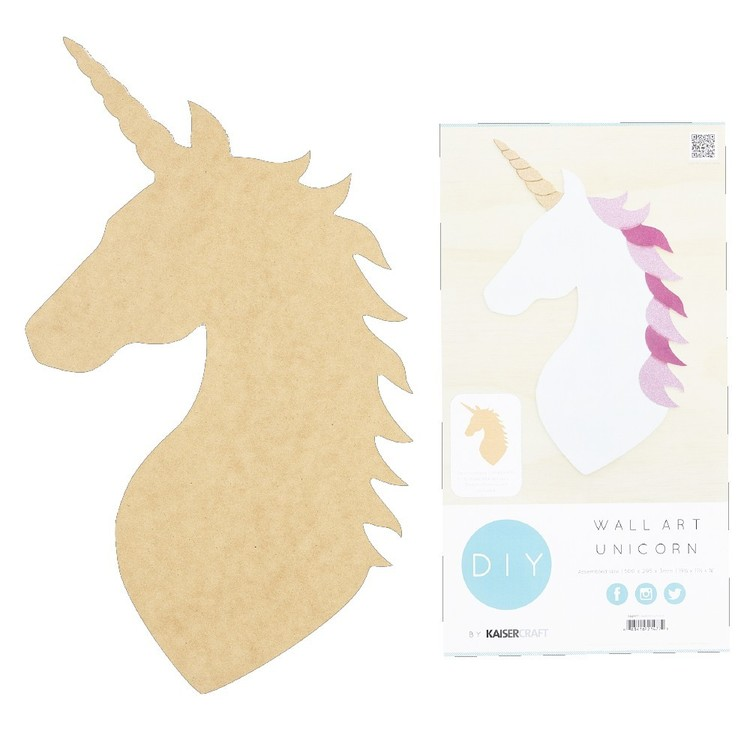 Kaisercraft Unicorn Wall Art