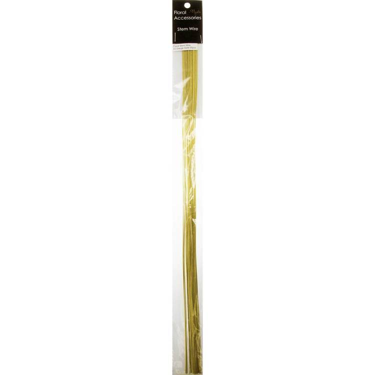 Vivaldi Floral 22 Gauge Wire Stem