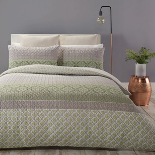 Mix N Match Aya Quilted Quilt Cover Set