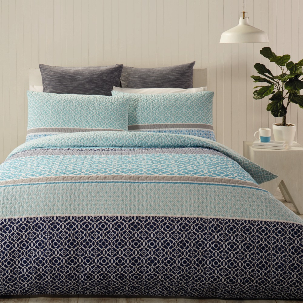 New mix n match mia quilted quilt cover set by spotlight