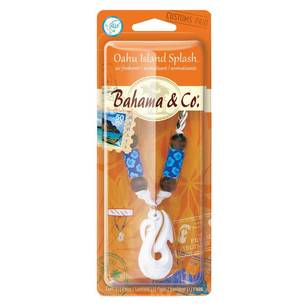 Bahamas Island Splash Bone Necklace Freshener