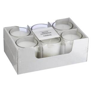 Living Space Candle Jar 6 Pack - Everyday Bargain