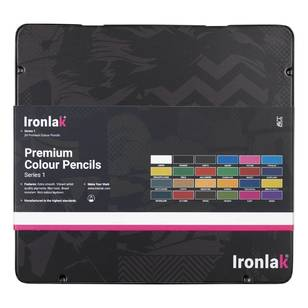 Ironlak Premium Colour Pencil Series 1