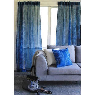 Tribeca Palm Printed Sheer Fabric