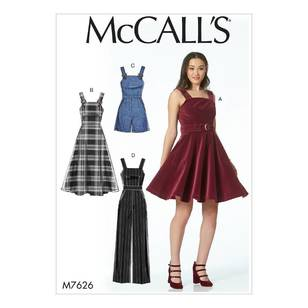 McCalls M7626 Dresses & Jumpsuit