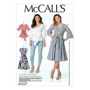 McCall's Pattern M7627 Tops & Dresses