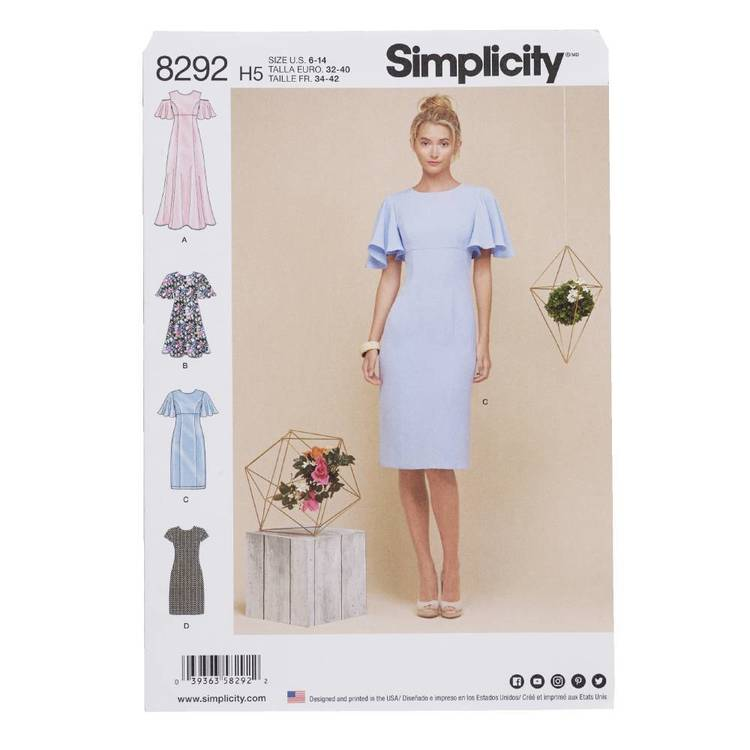 Simplicity Pattern 8292 Dresses