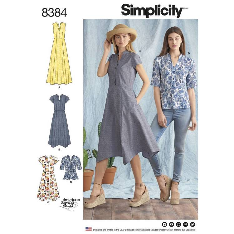 Simplicity Pattern 8384 Dress