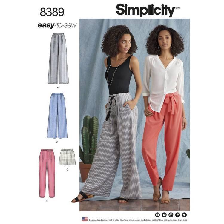 Simplicity Pattern 8389 Pants