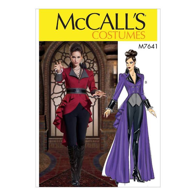McCall's Pattern M7641 Jacket Costume