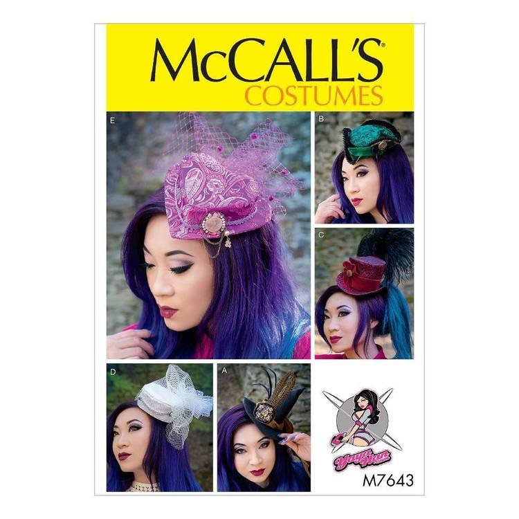 McCall's Pattern M7643 Fascinators