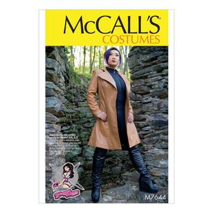 McCall's Pattern M7644 Coat Costume