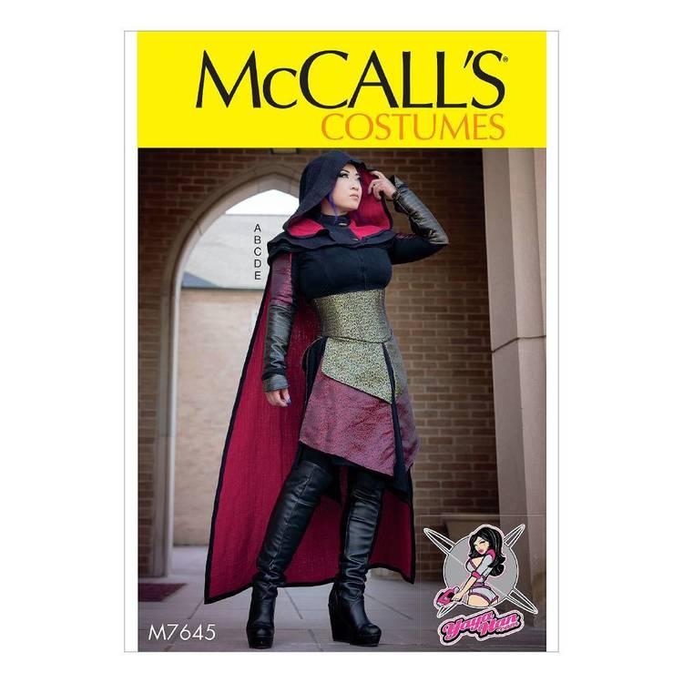 McCall's Pattern M7645 Dress Costume