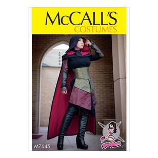 McCall's Pattern M7645 Dress Costume